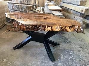 Table Bois Brut : table bois brut wonder prestige appalaches design ~ Teatrodelosmanantiales.com Idées de Décoration