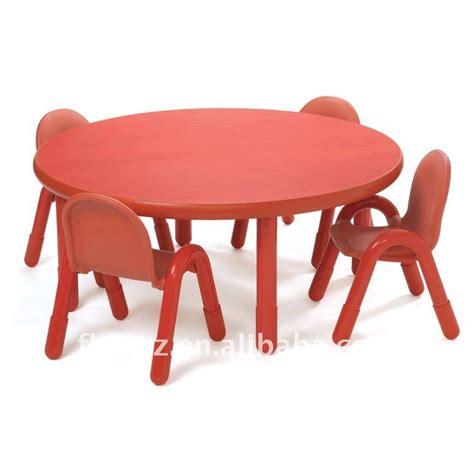 meilleur chaise de bureau haute qualité enfants en bois rond table et chaise pour