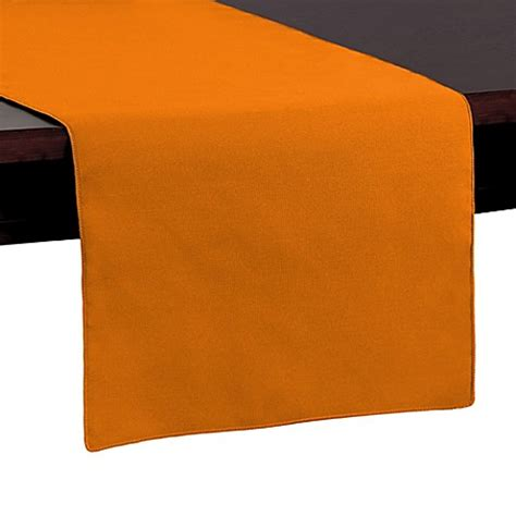 72 inch table runner buy basic polyester 72 inch table runner in orange from