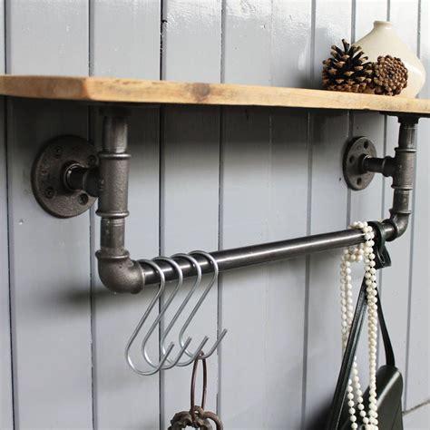 industrial steel pipe storage shelf bathroom pipe