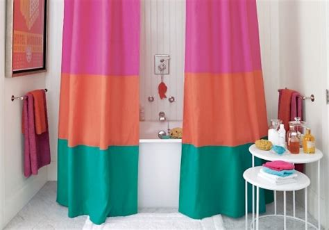 10 Super Simple Diy Shower Curtains ... Lifestyle