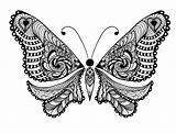 Coloring Animals Adults Pages Animal Adult Butterfly Printable Advanced Uncolored Folk Ornaments Tattoo Sweet Lot Bestcoloringpagesforkids Tattooimages Biz sketch template