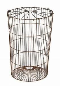 Wire Trash Burning Basket
