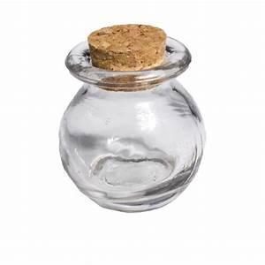 Pot Verre Couvercle : pot en verre avec rebord couvercle en li ge ~ Teatrodelosmanantiales.com Idées de Décoration
