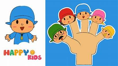 Finger Pocoyo Song Tv Mickey Rhyme Mouse