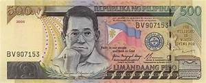 Philippine Money - Peso Coins and Banknotes: 500 Peso Bill ...