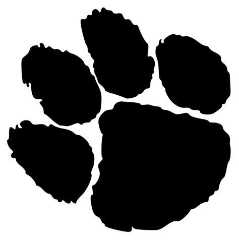 Tiger Paw Clip Tiger Paw Print Clip Sohadacouri