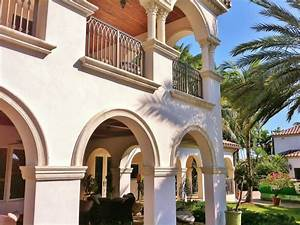 wrought-iron-railing-Exterior-Mediterranean-with-arches