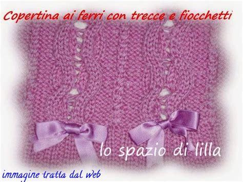 Copertine Per by Lo Spazio Di Lilla Copertina Per Neonato Ai Ferri