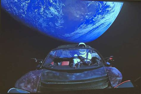 19+ Photo Of Tesla Car In Space Background