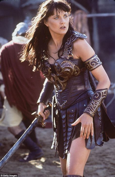 Xena: Warrior Princess stars Lucy Lawless and Renee O ...