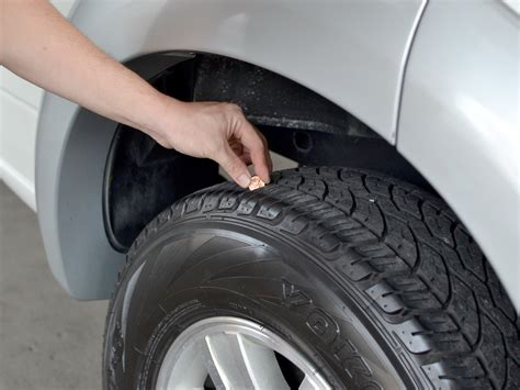 How To Check Tire Tread With A Penny