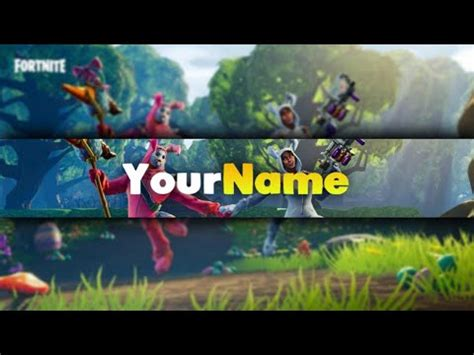 fortnite cool youtube banner  android