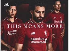 Liverpool's Mo Salah among stars modelling new 201819