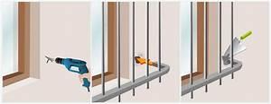 Barreau Securite Fenetre : poser une grille de d fense fen tre ~ Premium-room.com Idées de Décoration