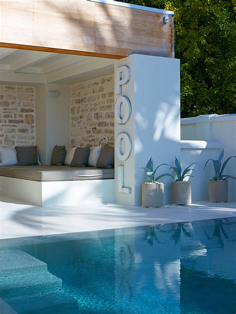 sleek swimming pool seating ideas outdoorthemecom