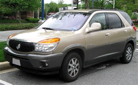 Buick 2003 Rendezvous by File 02 03 Buick Rendezvous Jpg Wikimedia Commons