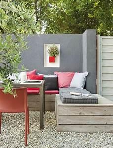 1 idee deco jardin exterieur avec meubles d exterieur pas With idee deco cuisine avec conforama meuble jardin