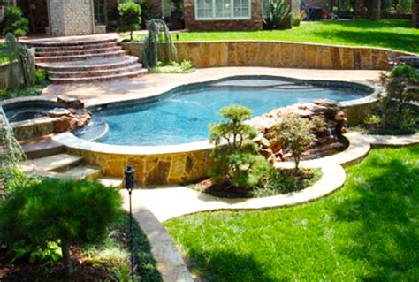 Large Above Ground Pools With Deck