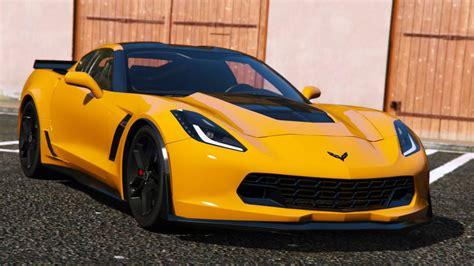 Chevrolet Corvet by 2014 Chevrolet Corvette C7 Stingray Gta5 Mods