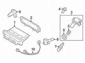 Ford Edge Engine Control Module  3 5 Liter  Code Wxx0