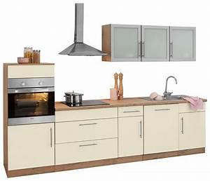 Billige Küchen Mit E Geräten : k chenzeile aachen mit e ger ten breite 300 cm otto ~ Frokenaadalensverden.com Haus und Dekorationen