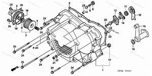 Honda Atv 2006 Oem Parts Diagram For Front Crankcase Cover