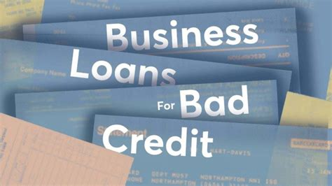 business loans  bad credit  business