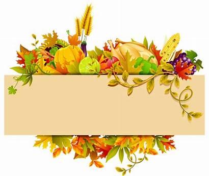Thanksgiving Clipart Transparent Harvest Clip Decor Background
