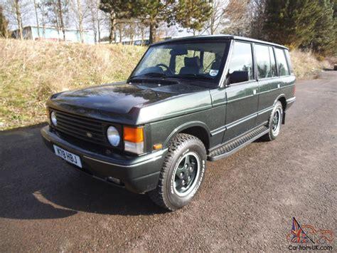 Land Rover Range Rover Lse Auto 4.2 Lpg Converted