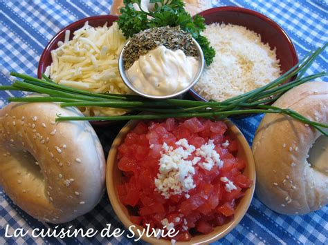 sylvie cuisine la cuisine de sylvie bagel italien
