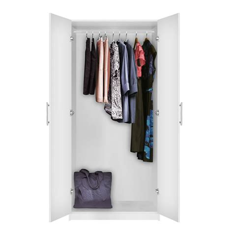 Closets With Doors by Alta Wardrobe Closet Free Standing Wardrobe With Doors