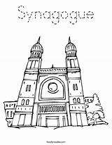 Synagogue Coloring Judaism Pages Temple Worksheet Clipart Cliparts Outline Lotus Library Torah Clip Twistynoodle sketch template