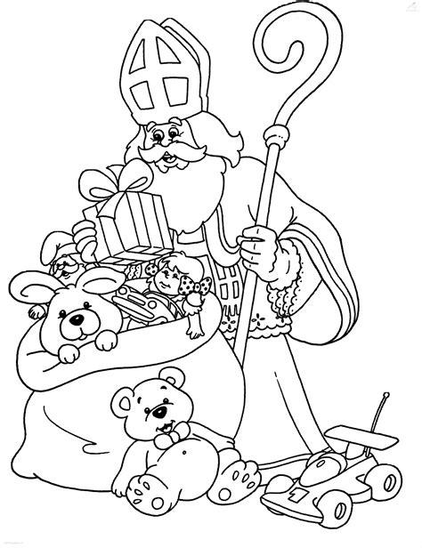 Kleurplaat Sint En Iet by Kleurplaat Sinterklaas En Piet