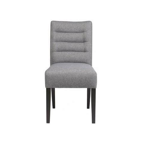 chaise gris clair chaise design confortable tissu gris clair caldes woood