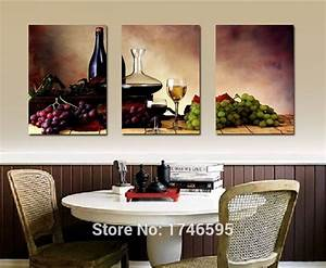 compare prices on kitchen wine decor online shopping buy With best brand of paint for kitchen cabinets with family name canvas wall art