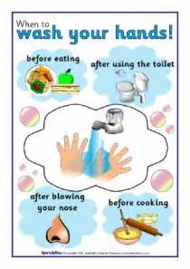 Printable Hand Washing Signs Kids