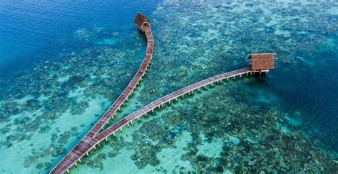 pulau bawah surga tersembunyi tempat wisata  kaya