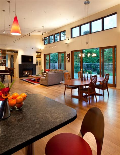 open space living rooms  airy  stylish interior decors