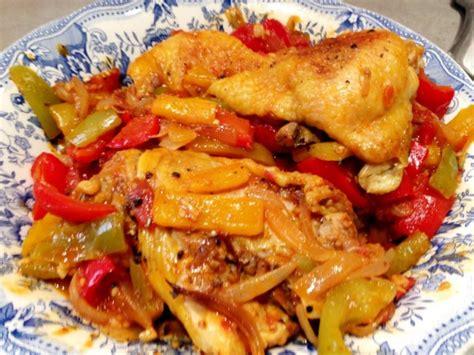 cuisiner un reste de poulet poulet basquaise de mon coeur et photo ratée histoires