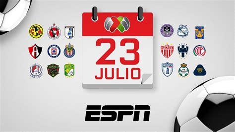 Liga MX revela el calendario del Apertura 2020 que ...