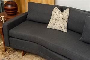paul mccobb sleek mid century modern vintage sectional With vintage mid century modern sectional sofa