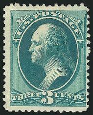 George Washington 3 Cent Stamp Value