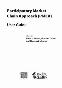Participatory Market Chain Approach  Pmca   User Guide