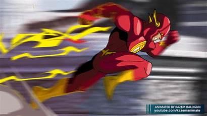 Flash Animation Running Dc Comics Run Speed