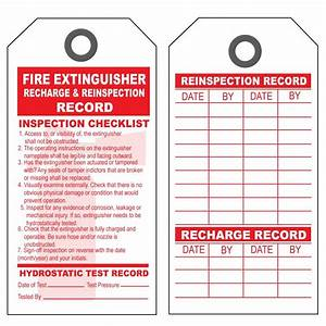 Product details designsnprint for Fire extinguisher inspection tag template