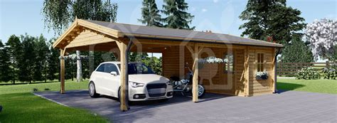 Carport With Shed by Carport With Shed 20x25 Wood Free Delivery Us