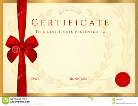 certificate completion congrats template certificate