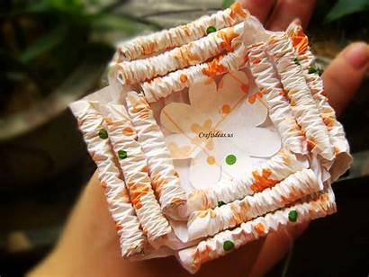 Paper Box Gift Flower Bow Craft Tutorial