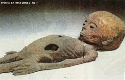 Egyptian Alien Mummy Found in Pyramid
